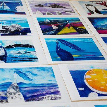 принтове рекламно студио light on prints and postcards