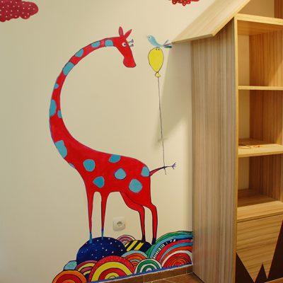 дизайн и изработка на шаблони за детски стаи
